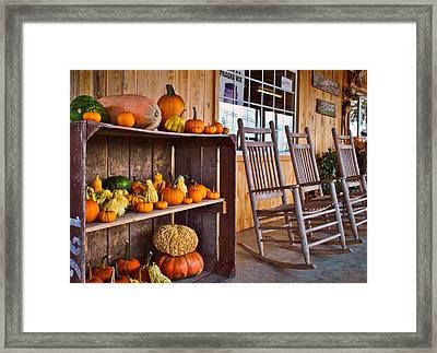 Rural Market Framed Print by Greg Jackson