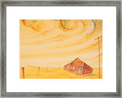 Rural Post Office Framed Print