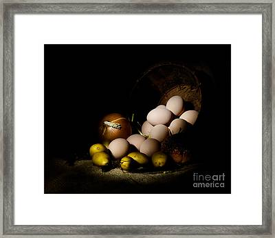 Rural Produce Framed Print