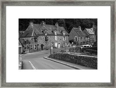 Rural French Village Framed Print