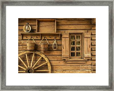 Rural Wertern Framed Print