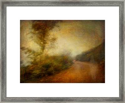 Framed Print featuring the photograph Ruralscape #11 - Rain And Dust by Alfredo Gonzalez