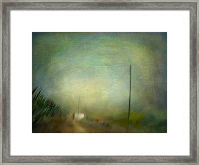 Framed Print featuring the photograph Ruralscape #9 - Deep Place by Alfredo Gonzalez
