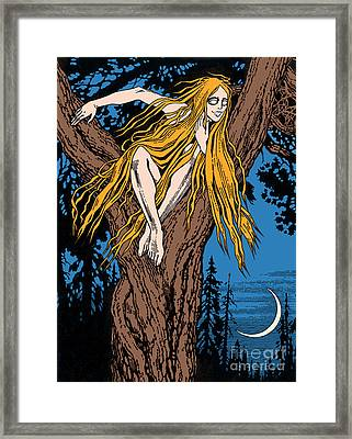 Rusalka Framed Print by Photo Researchers