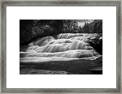 Framed Print featuring the photograph Rush by David Stine