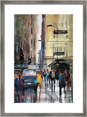 Rush Hour 2 - Chicago Framed Print