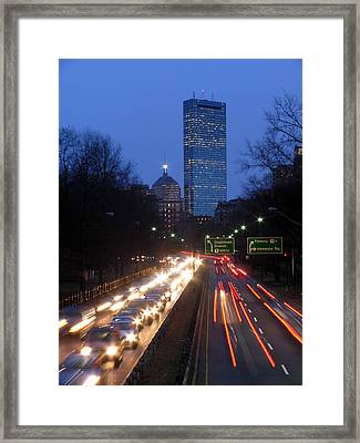 Rush Hour Framed Print by Juergen Roth