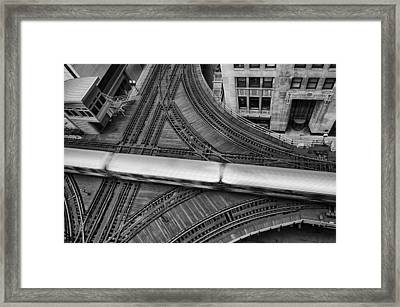 Chicago Rush Hour Framed Print by Mike Burgquist