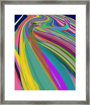 Rush Hour To Sbux Framed Print