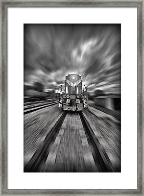 Rush Framed Print by Jason Green