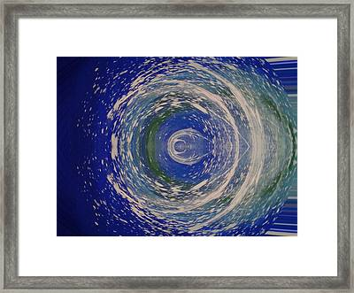 Rush Of Life Framed Print by Erica  Darknell