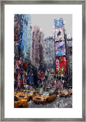 Rushhour Framed Print by Steve K