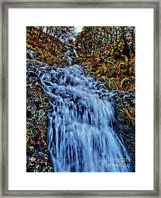 Rushing Falls Framed Print