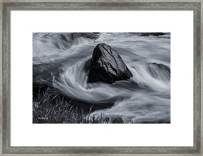 Merced River Framed Print by Bill Roberts