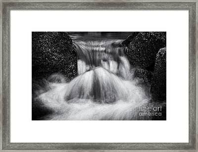 Rushing Waters Devon Framed Print by Tim Gainey