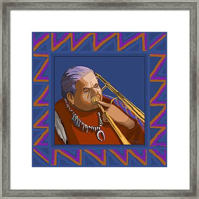 Russell Big Chief Moore Framed Print