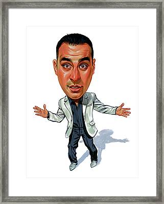 Russell Peters Framed Print