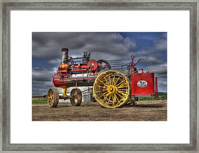 Russell Steam Framed Print