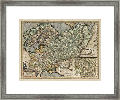Russia Framed Print by British Library