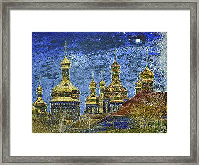 Framed Print featuring the photograph Russia by Irina Hays