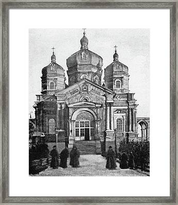 Russia Monastery, C1897 Framed Print by Granger