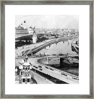 Russia Moscow, C1902 Framed Print by Granger