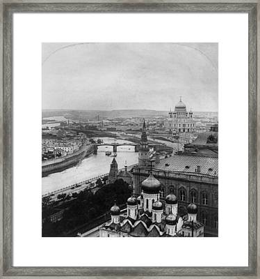 Russia Moscow, C1903 Framed Print by Granger