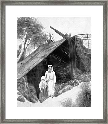 Russia Peasants, 1921 Framed Print