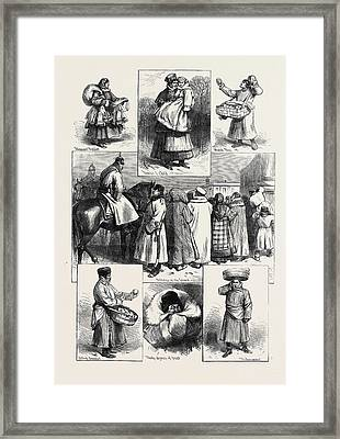 Russia Sketches In St Framed Print
