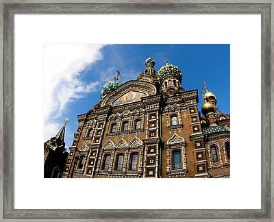 Russia, St Petersburg Church Framed Print by Jaynes Gallery