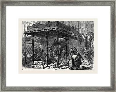Russia The Jordan Festival Framed Print by English School