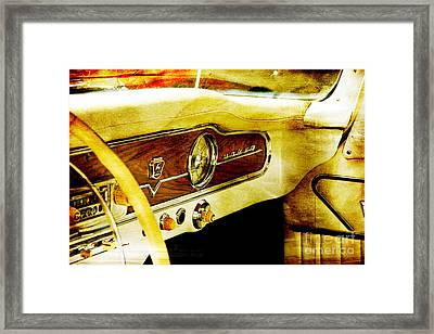 Russian Car Framed Print by Lali Kacharava