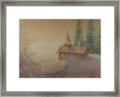 Russian Chapel Framed Print