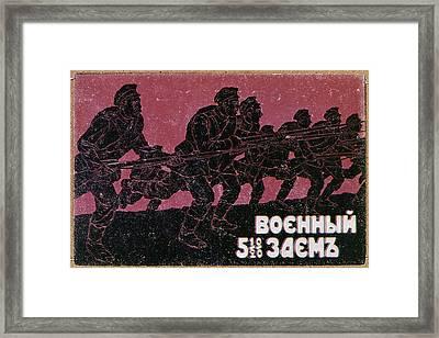 Russian Civil War, C1917 Framed Print by Granger