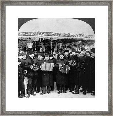 Russian Musicians, C1919 Framed Print by Granger