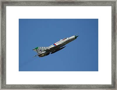 Russian Power Framed Print by Peter Geffers
