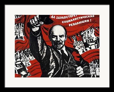 Russian Revolution Framed Prints