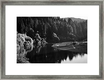 Russian River Framed Print by Art K