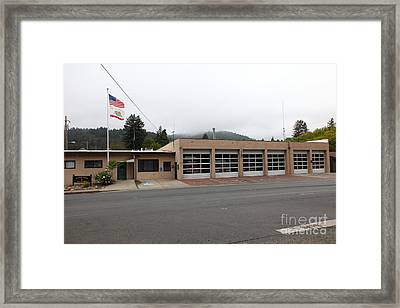Russian River Fire District 1 In Guerneville California 5d25917 Framed Print