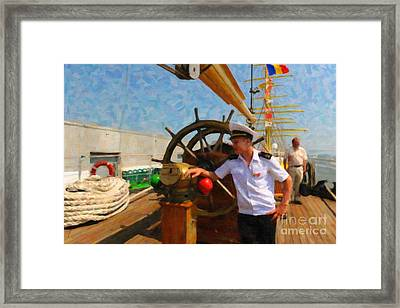 Russian Sailor Framed Print