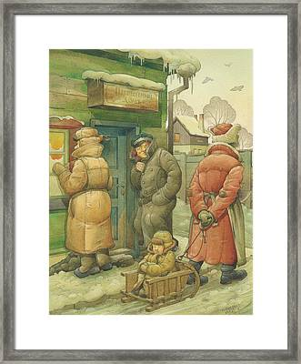 Russian Scene 07 Framed Print by Kestutis Kasparavicius