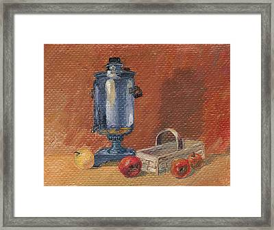 Russian Style Framed Print