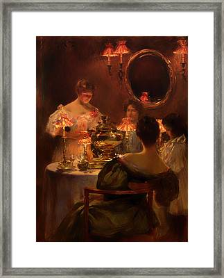 Russian Tea Framed Print by Mountain Dreams