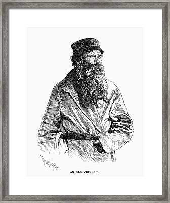 Russian Veteran, 1890 Framed Print by Granger