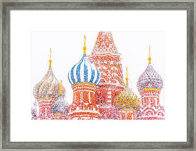 Russian Winter Framed Print