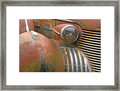 Rust ... The Other Color Framed Print