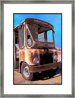 Rust And Mail Framed Print by Glenn McCarthy Art and Photography