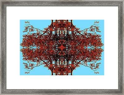Framed Print featuring the photograph Rust And Sky 3 - Abstract Art Photo by Marianne Dow