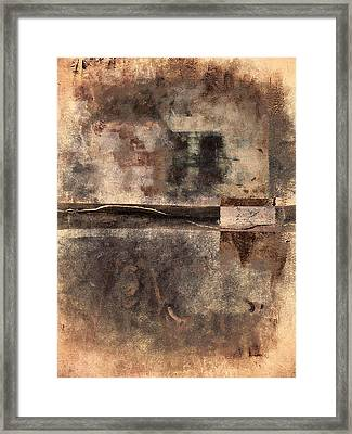 Rust And Walls No. 2 Framed Print by Carol Leigh