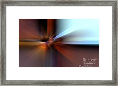 Rust Can Be Beautiful IIi Framed Print by Naomi Richmond